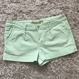 American Rag Jean Shorts in Mint